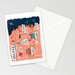 Map O' Hali Stationery Cards