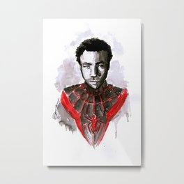 Donald for Spider-Man Metal Print