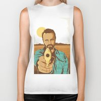 jesse pinkman Biker Tanks featuring BREAKING BAD | JESSE PINKMAN by Daniel Mackey