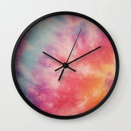 Colour haze Wall Clock