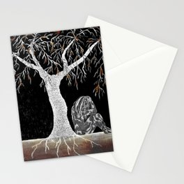 A Branch of Life to Contemplate Stationery Cards