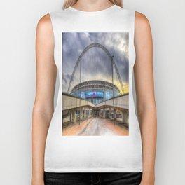 Wembley stadium London Biker Tank
