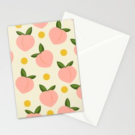 Peachy Stationery Cards