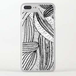 Cells by Yayoi kusam Clear iPhone Case