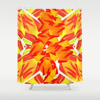 marley Shower Curtains featuring IRIE by Chrisb Marquez