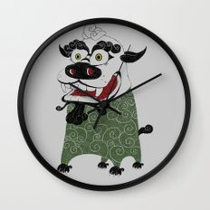 Shishi 獅 Wall Clock