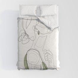 Olive Beauty Comforters