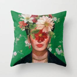 Frida Flow Throw Pillow