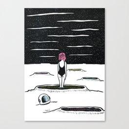 Balnéaire Canvas Print