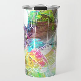 crystals 5 Quartz Travel Mug