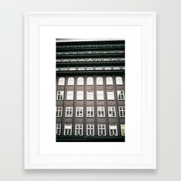 chile house Framed Art Print