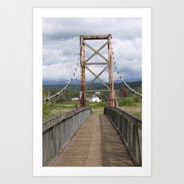 Tolt McDonald Bridge Art Print