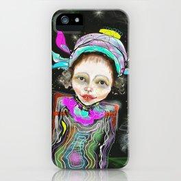 spacegirl iPhone Case