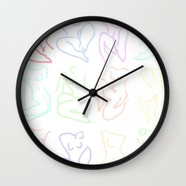 for colette Wall Clock