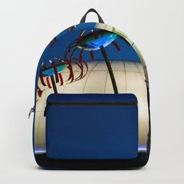 Seattle Glass Flowers Space Needle Backpack