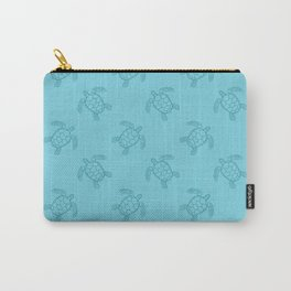 Light Blue Turtles Carry-All Pouch