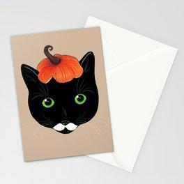Pumpkin Kitty Stationery Cards