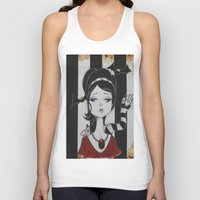 lydia martin Tank Tops featuring Lydia by Art of Lety Reyes