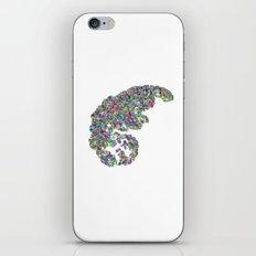 Color binary tree  iPhone & iPod Skin