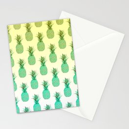 Pineapple Pattern Stationery Cards