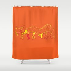 Clever Disguise Shower Curtain