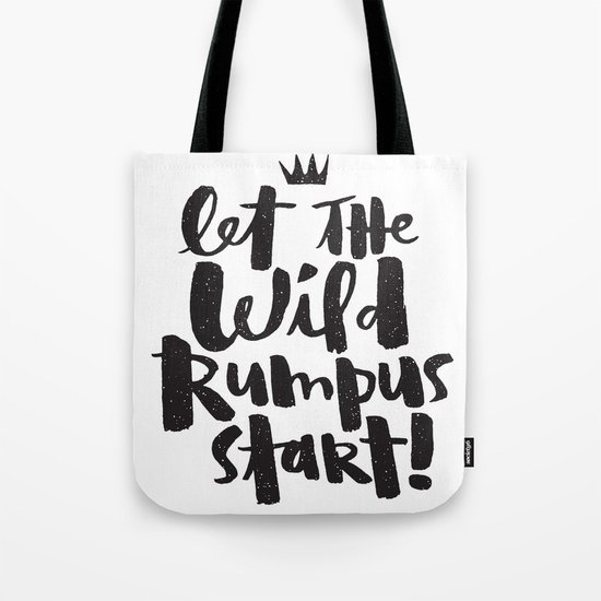 WILD RUMPUS Tote Bag