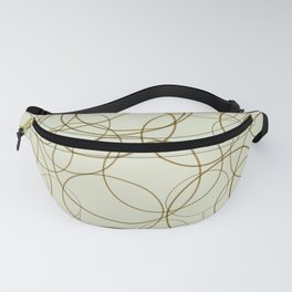 Circles and Doodles Fanny Pack