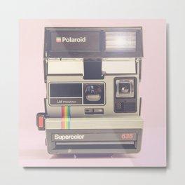 Supercolor 635 Vintage Camera Metal Print