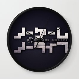No game no life Wall Clock