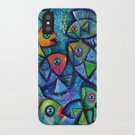 Fancy Fish iPhone Case