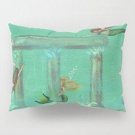 Mermaid's Playground Pillow Sham