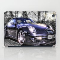 porsche iPad Cases featuring Porsche by ian hufton