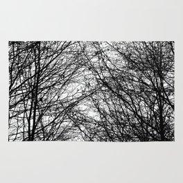 Tree Silhouette Series 8 Rug