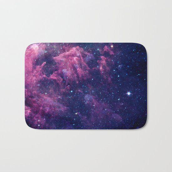 Space nebula Bath Mat