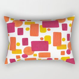 Colorplay No. 1 Rectangular Pillow