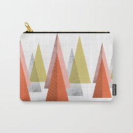 TRIANGLES SCANDINAVIAN INSPIRATION Carry-All Pouch