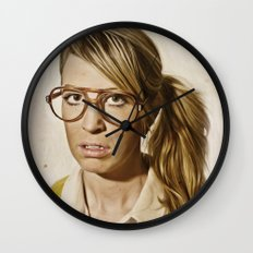 i.am.nerd. : Lizzy Wall Clock