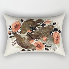 Spangled & Plumed Rectangular Pillow