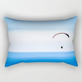 Taking in the view Rectangular Pillow