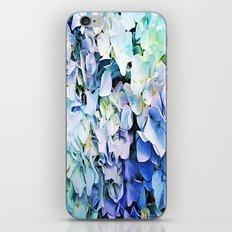 Soft Tri-Color Pastel Hydrangea iPhone & iPod Skin
