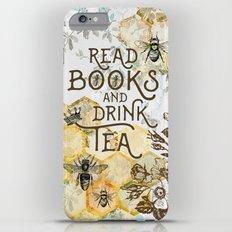 Bee Tea and Books Slim Case iPhone 6s Plus