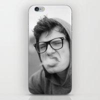 smoking iPhone & iPod Skins featuring Smoking by Frederic Streminski