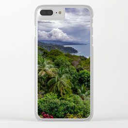 Villas Alturas Costa Rica View Clear iPhone Case
