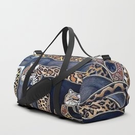 Big cats of Costa Rica Duffle Bag