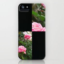Pink Roses in Anzures 5  Blank Q2F0 iPhone Case