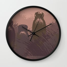 Empty shells Wall Clock