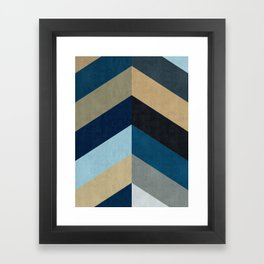 Triangular composition XX Framed Art Print