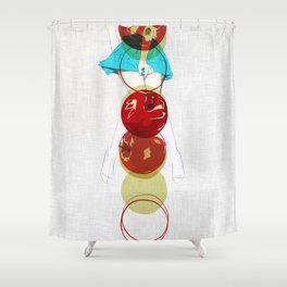 your gravitation Shower Curtain