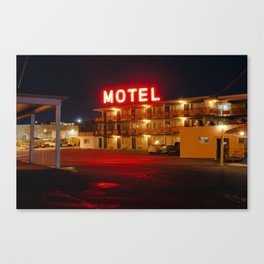 Beltway Motel Canvas Print