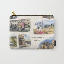 Italy - Art Print Carry-All Pouch